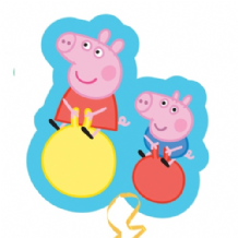 Peppa & George Large Foil Balloon 1pc